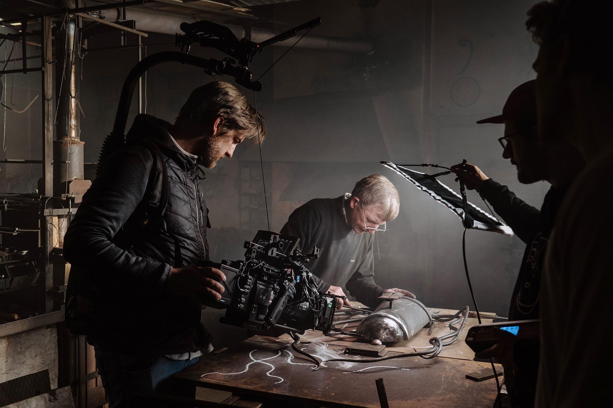 Filmproduktion Imagefilm Landskron Kulturbrauerei Stadt Görlitz Schmied