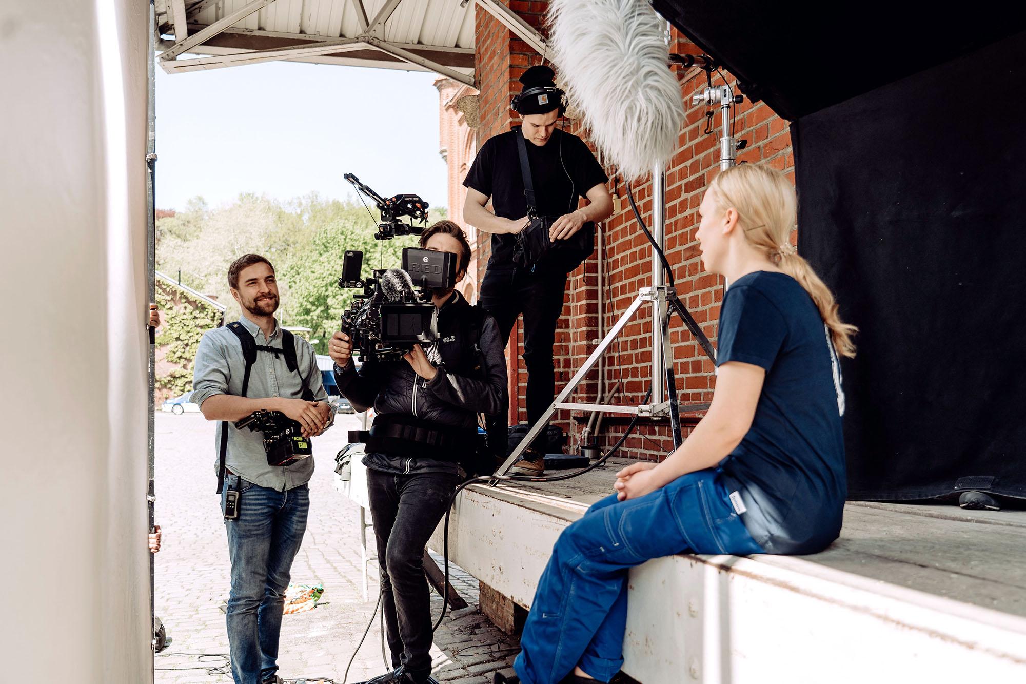 Filmproduktion Imagefilm Landskron Kulturbrauerei Stadt Görlitz Kamera RED Filmteam Dreharbeiten