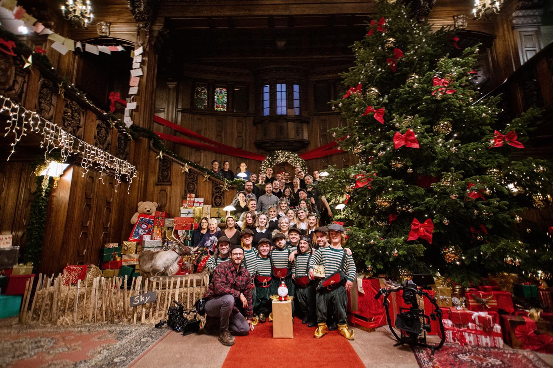 Filmproduktion Imagefilm Werbespot Online Duracell Weihnachtsspot Drehteam