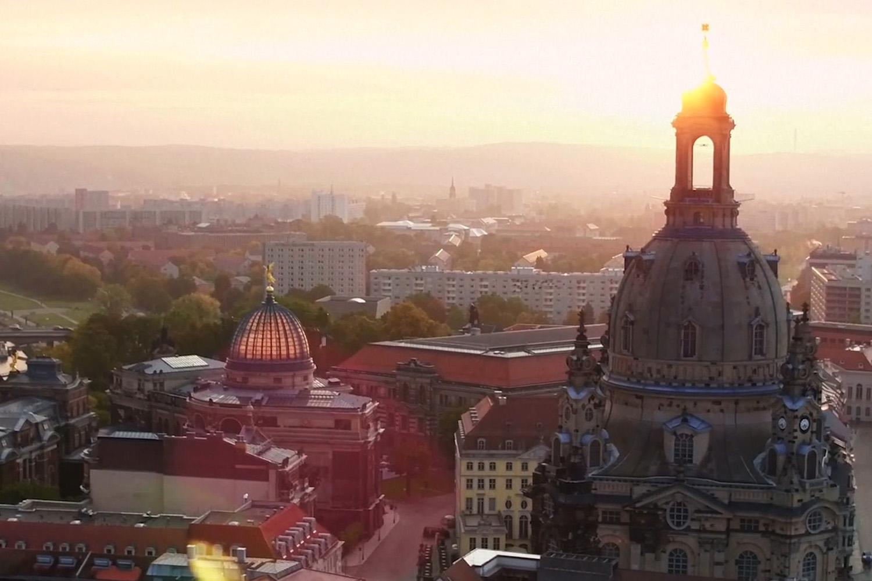 Filmproduktion Imagefilm Stadt Dresden Dreharbeiten