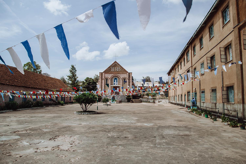 Filmproduktion Imagefilm Afrika Tansania Kloster