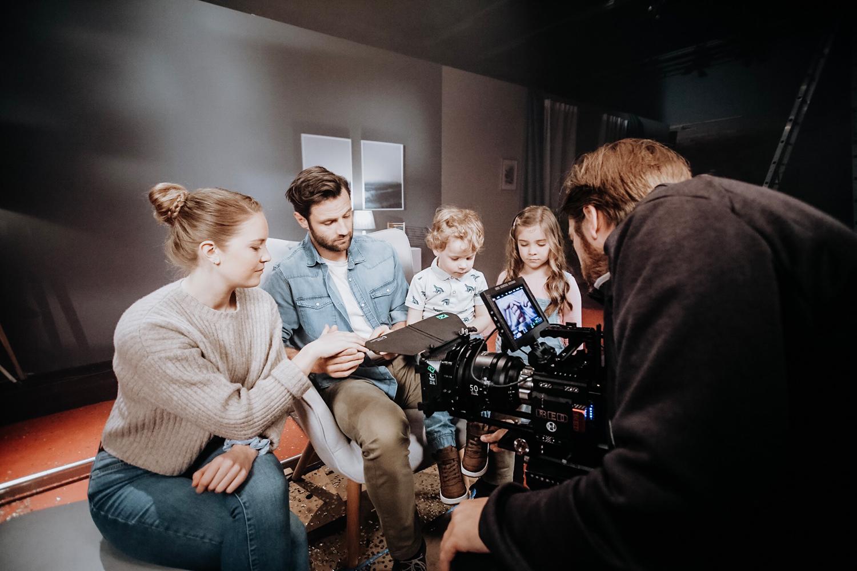 Filmproduktion Imagefilm Produktfilm Dreharbeiten Energielösungen QCells