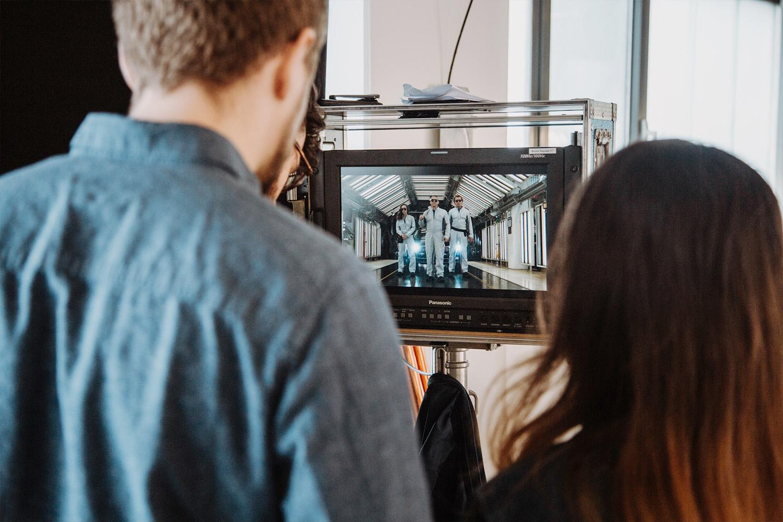 Filmproduktion Imagefilm Recruitingfilm Volkswagen Sachsen Dreharbeiten