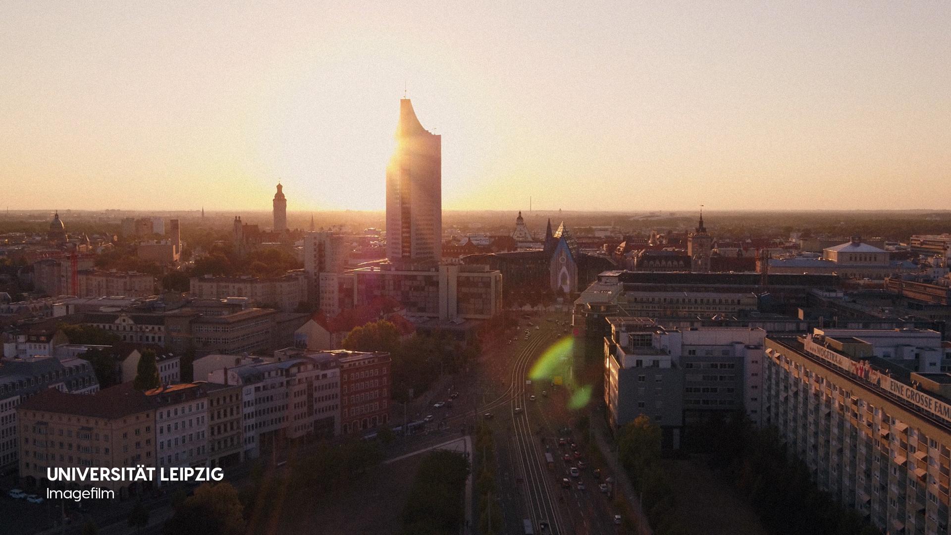 Filmproduktion Imagefilm Universität Leipzig Stadt